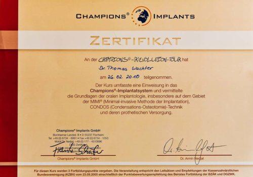 2010-Zertifikat-Implantologie-Certificato-Impiantologia-Flonheim-Frankfurt-Dr-Thomas-Waechter-Zahnarzt-Odontoiatra-Bozen-Bolzano-2